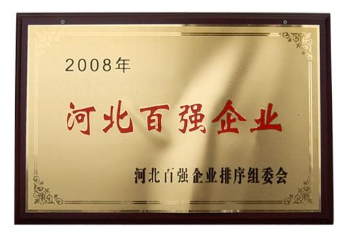 2008年河北百强企业